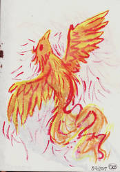 Phoenix Rising by TorchFlame27