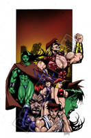 SHE-HULK: THE BADLANDS COVER by Dwid