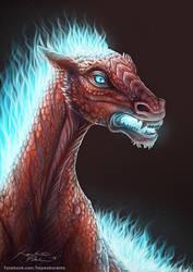 Horse of the Underworld by hopeakorento