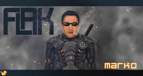 FLAK - Marko by HellHoundx666