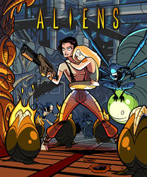 Ripley's in the Hive by ivewhiz