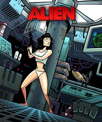 Ripley, Last Survivor (panties edition) by ivewhiz
