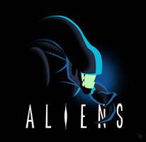 Aliens Deco by ivewhiz
