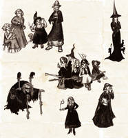 Witches by WinterSpider