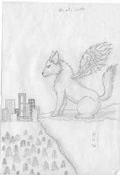 Angelwolf by sakurayukichan2001