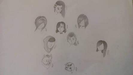 Sketchbook #01 by sakurayukichan2001