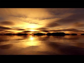 Day's End - Terragen by furryphotos
