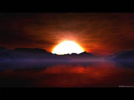 Alien Sunrise by furryphotos