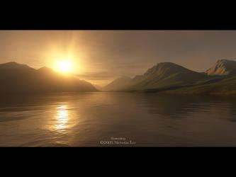 Serenity - Terragen by furryphotos