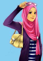 Happy Ramadhan by Lavendra