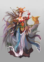 Female lord of chinese empire by antilous by antilous