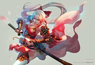 Samurai Yuki by antilous