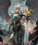 Archangel Uriel by antilous