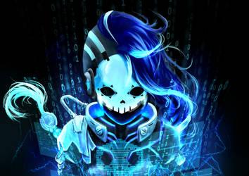 Cyberspace Sombra by b1tterRabbit