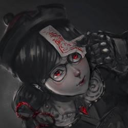 Mei Jiangshi by b1tterRabbit