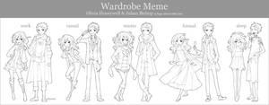 Wardrobe Meme by paper-hero