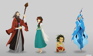The Tempest Cast by paper-hero