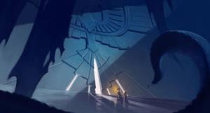 Equatia: Crumbling Ruin by paper-hero