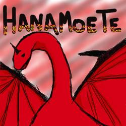 Red Dragon Hanamoete by wateralchemist001