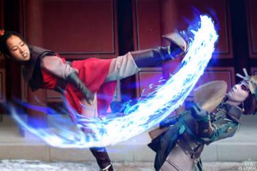 Fan Vs Flame by os-cordis