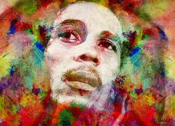 Bob Marley by Jc-Sparkz