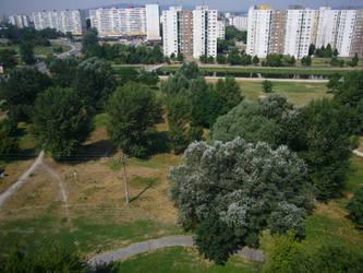 Petrzalka from my balcony by edvordo