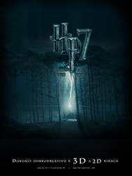 Movie poster for Harry Potter7 by edvordo