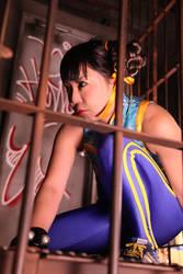 Chun_Li Cosplay photograph by Elin-Kuzunoha