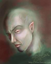 The green man by Giledhel-Narya