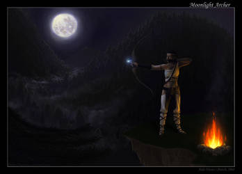 Moonlight archer by Giledhel-Narya