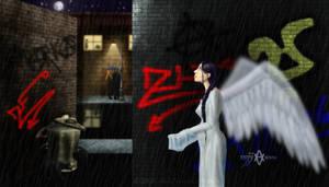 Angel Rain by Giledhel-Narya
