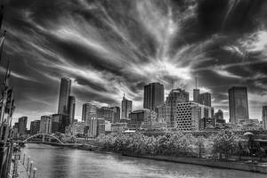 Melbourne City In MonoVision by hanykamel