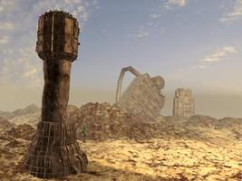 Ruins - 3D Landscape by ClaytonBarton