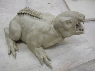 Spine Creature by Halfling-J