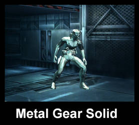 Metal Gear Solid by isaacrmhmd
