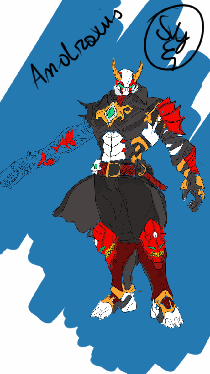 Paladins Androxus Skin Idea Oni By Svetly Nikolaev On Deviantart