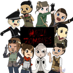 Nazi Zombies Ultimate squad by Eva-TheUndeadSoldier