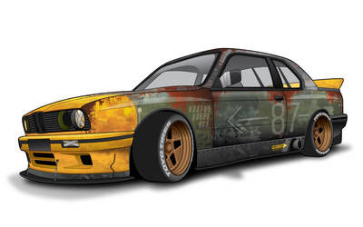 BMW E30 Rat Rod V2 by everlasting-flight