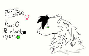 new character- zannia by LoneWolf0223