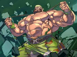 Final Fight2 Boss by Itadori-syu