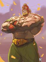 wrestler(HR) by Itadori-syu
