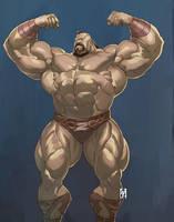 pro wrestler by Itadori-syu