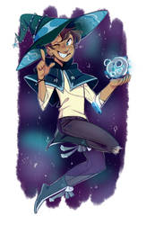 Witchy Lance by pianobelt0