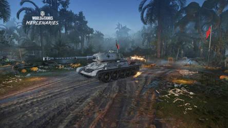 T-34-88 by HunterDarkWolf
