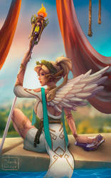 Mercy Winged Victory by Na1t
