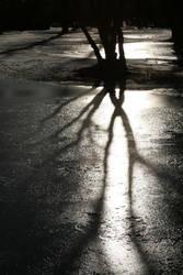 Winter, shine and shadows by maarbija
