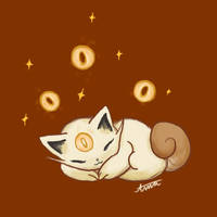 Baby Meowth by Godesscall
