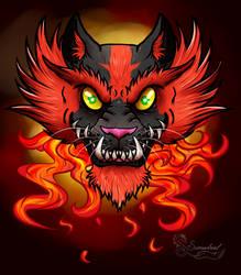 Incineroar by Samadriel