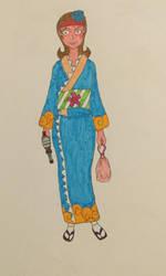 Talwyn while in Japan by Robokapu