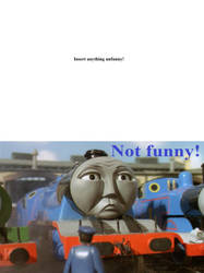 Gordon finds what unfunny? by JamestheRedEngine91